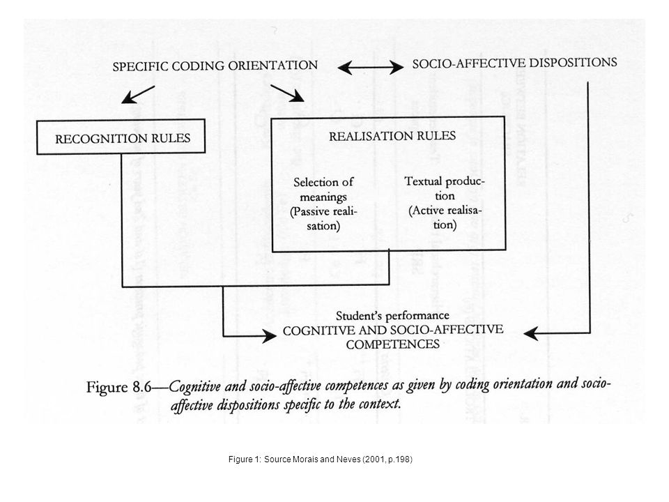 Figure 1: Source Morais and Neves (2001, p.198)