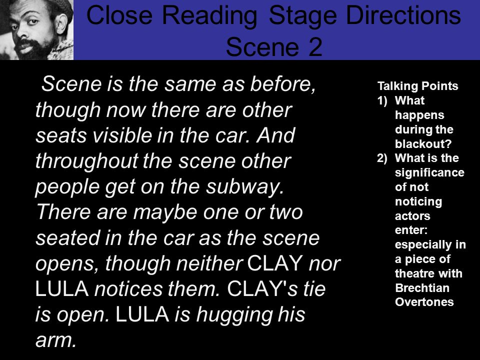 Close Reading Stage Directions Scene 2