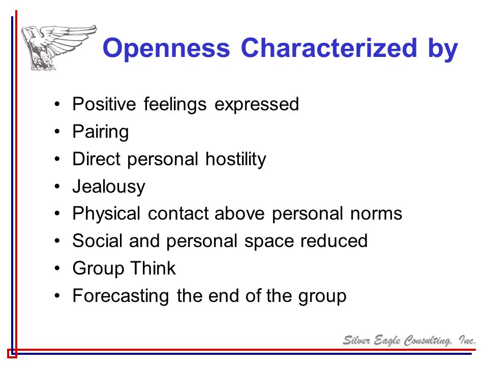 Openness Characterized by