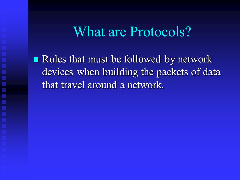 What are Protocols.