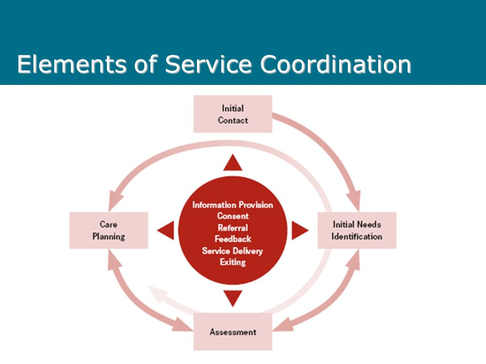 Elements of Service Coordination