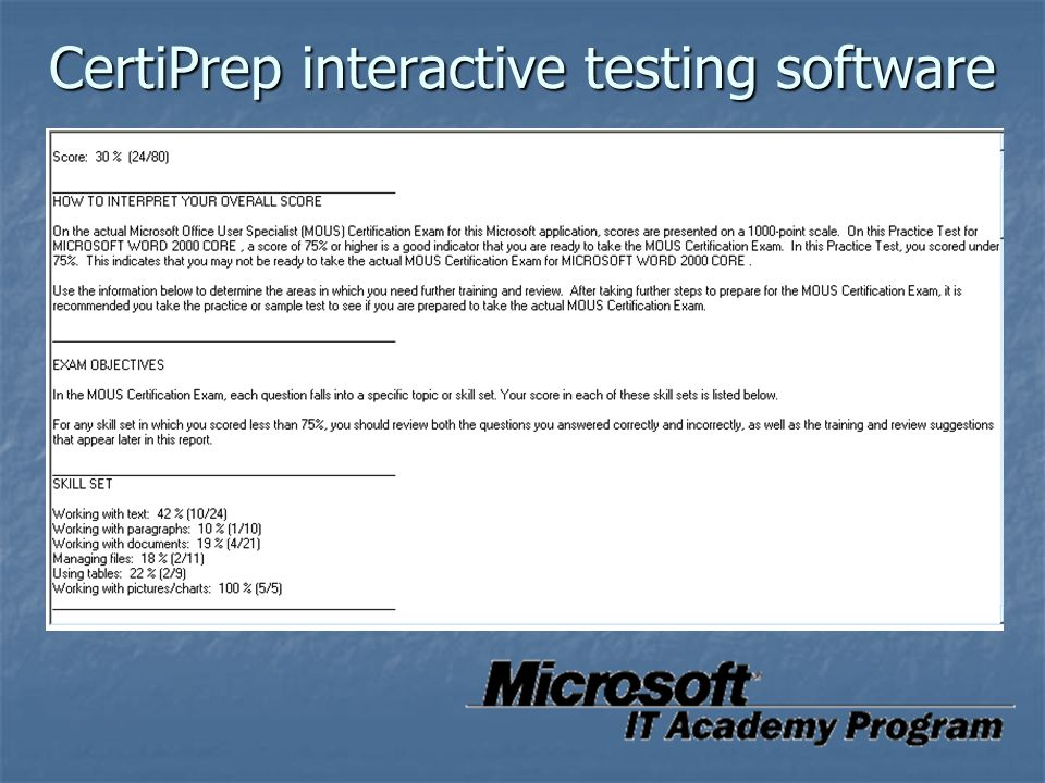 Microsoft It Academy Ppt Download
