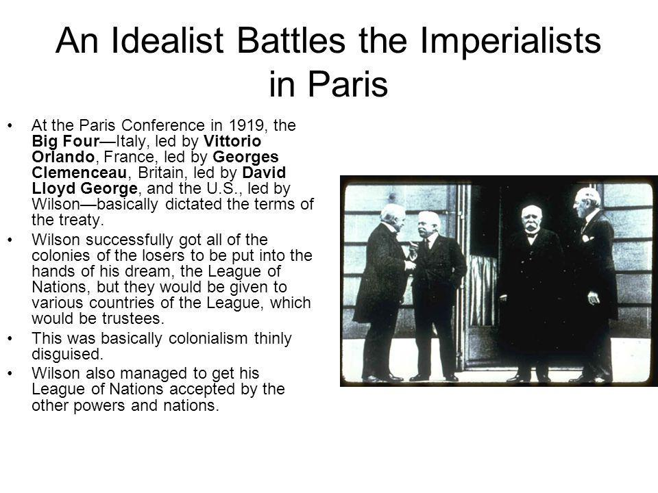 An Idealist Battles the Imperialists in Paris