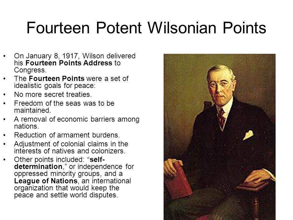 Fourteen Potent Wilsonian Points