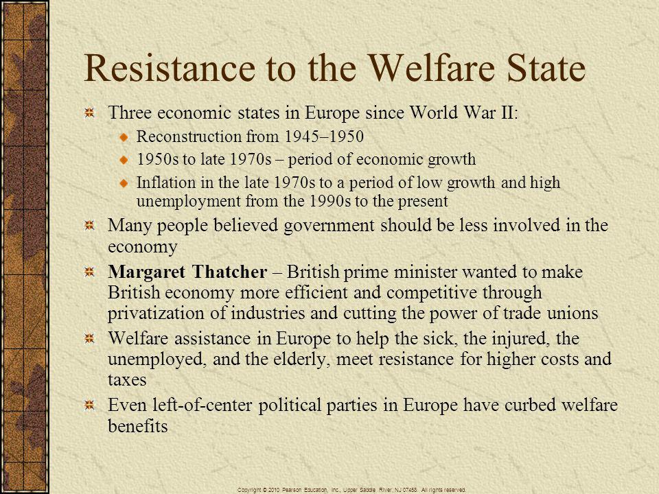 Resistance to the Welfare State