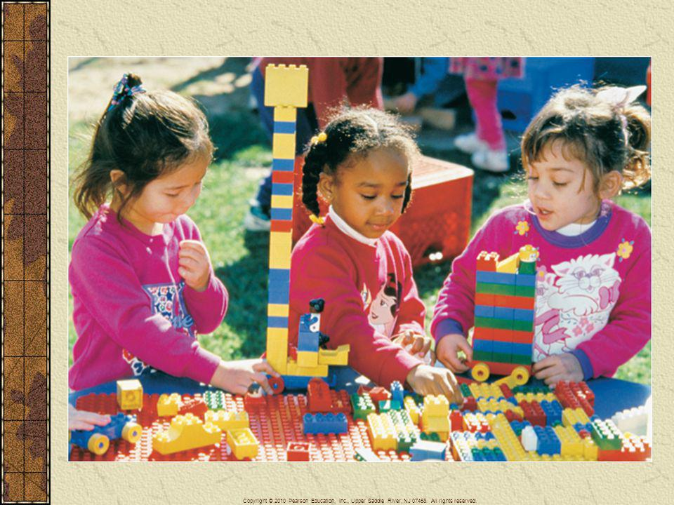 Children across the world play with LEGO toys.