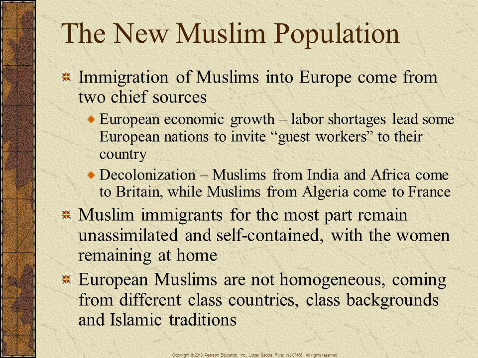 The New Muslim Population