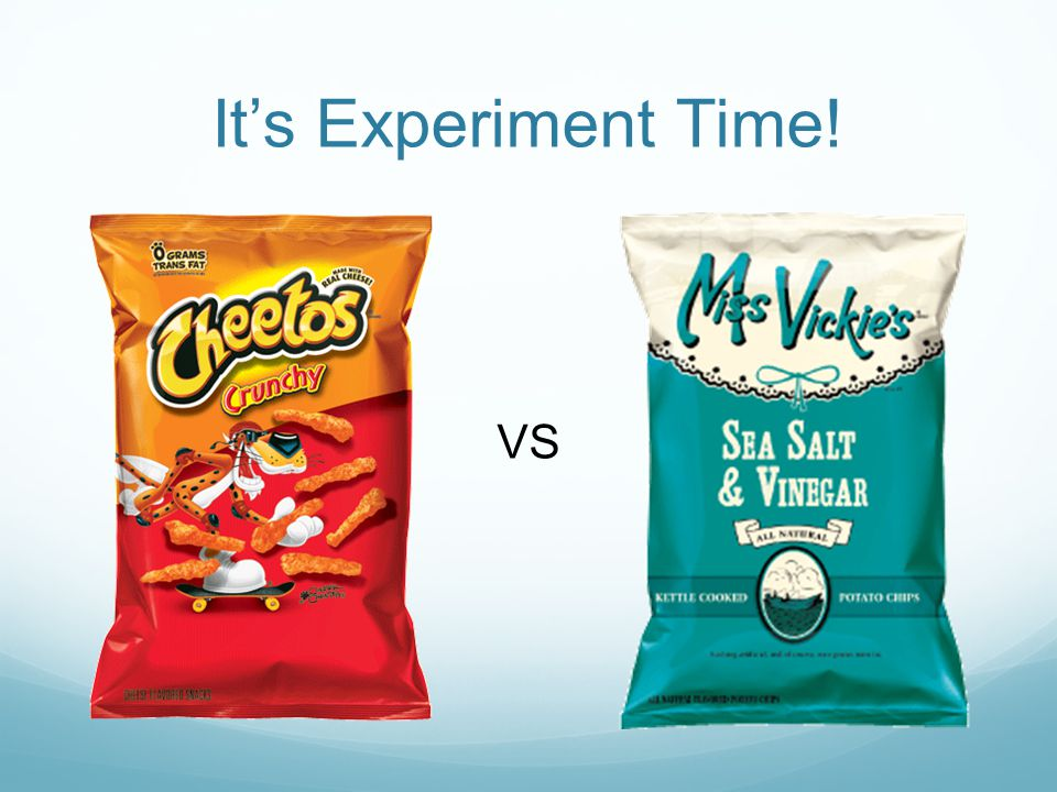 It's Experiment Time! VS