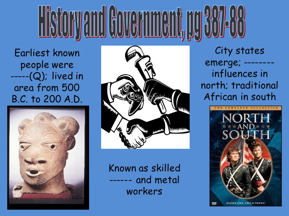 History and Government, pg 387-88