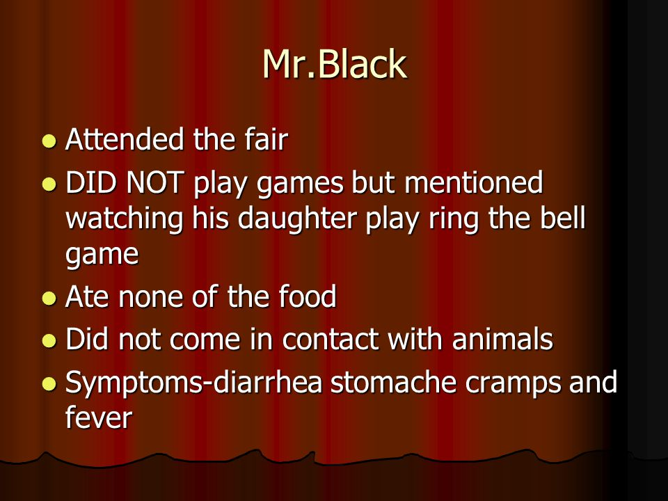 Mr.Black Attended the fair