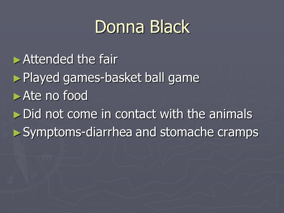 Donna Black Attended the fair Played games-basket ball game