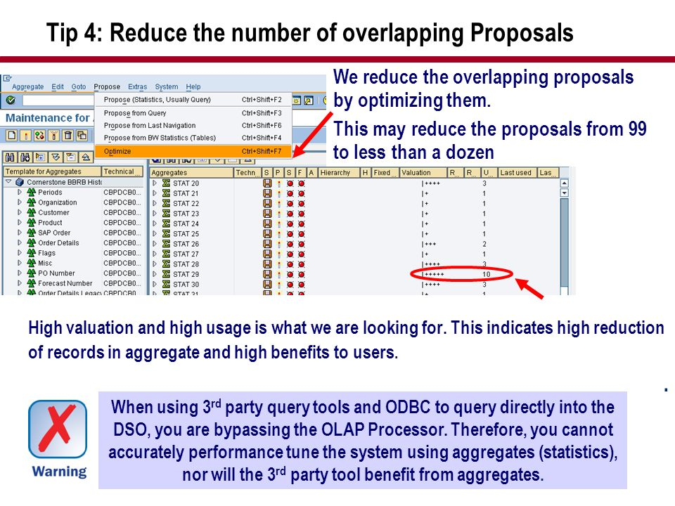 Tip 4: Reduce the number of overlapping Proposals