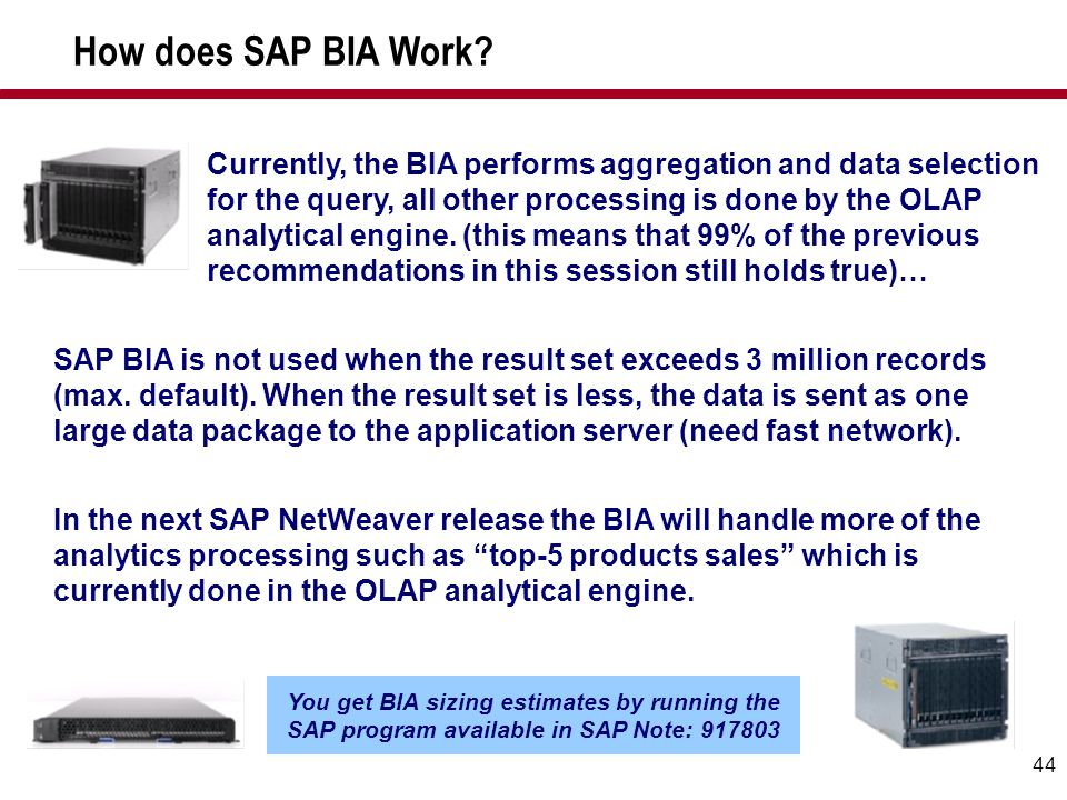 How does SAP BIA Work