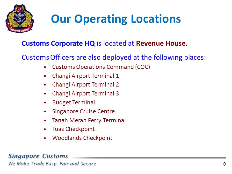 Our Operating Locations