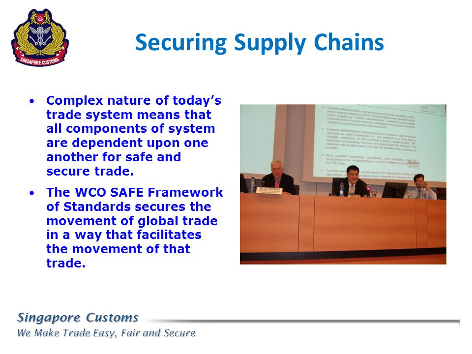 Securing Supply Chains