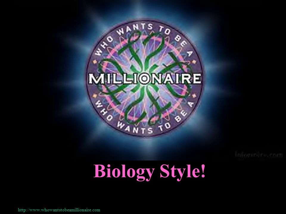 Biology Style!