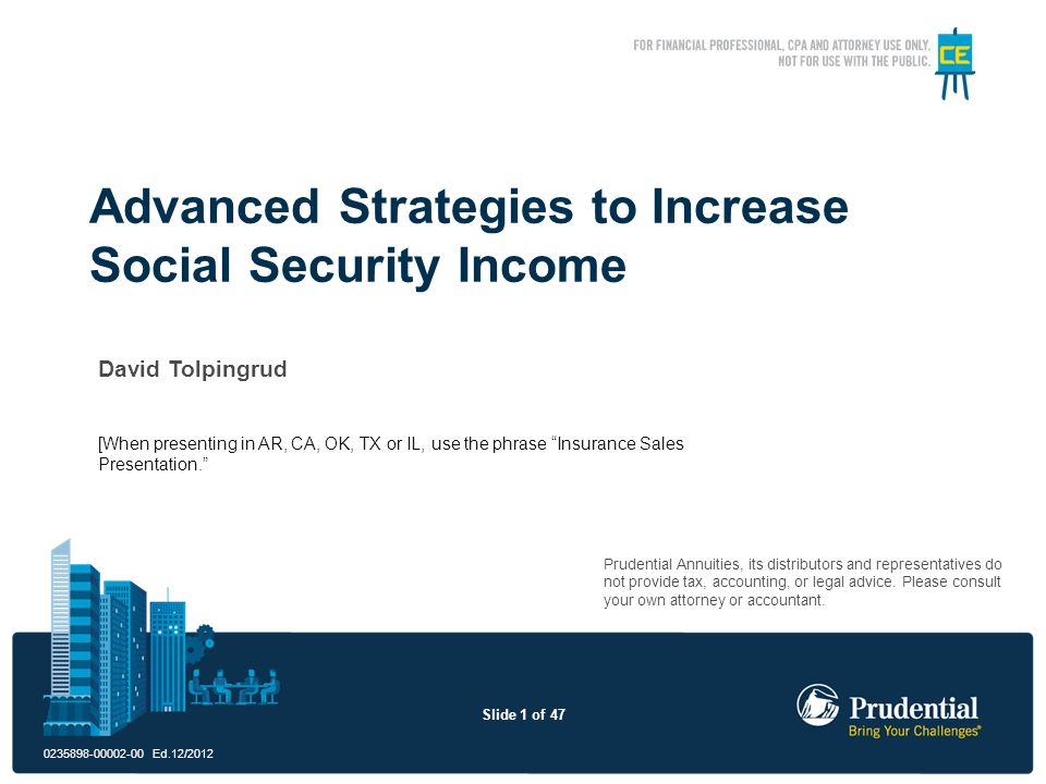 Advanced Strategies to Increase Social Security Income