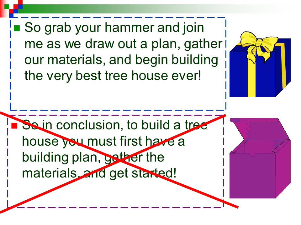 So grab your hammer and join me as we draw out a plan, gather our materials, and begin building the very best tree house ever!