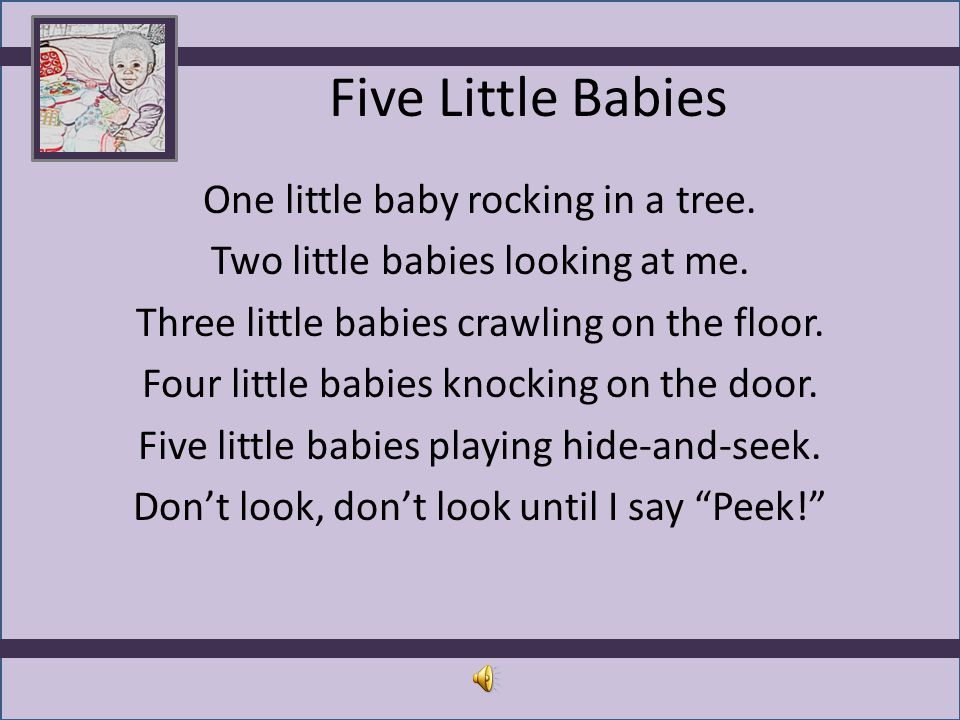 Five Little Babies