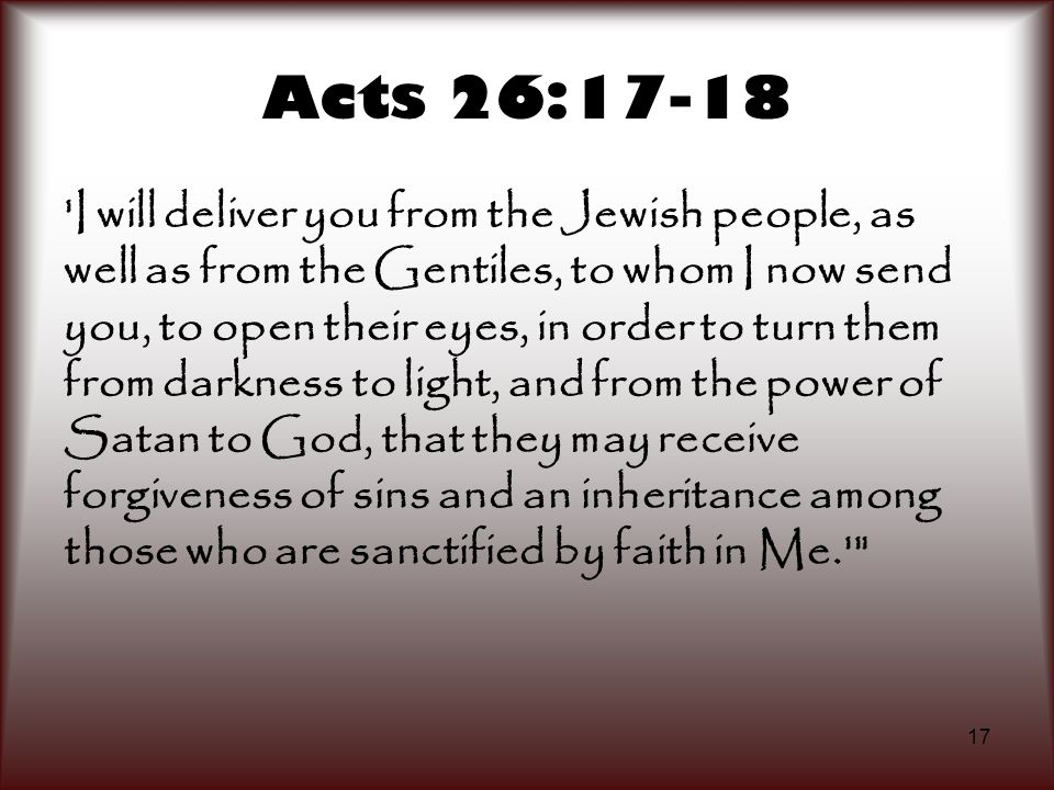 Acts 26:17-18
