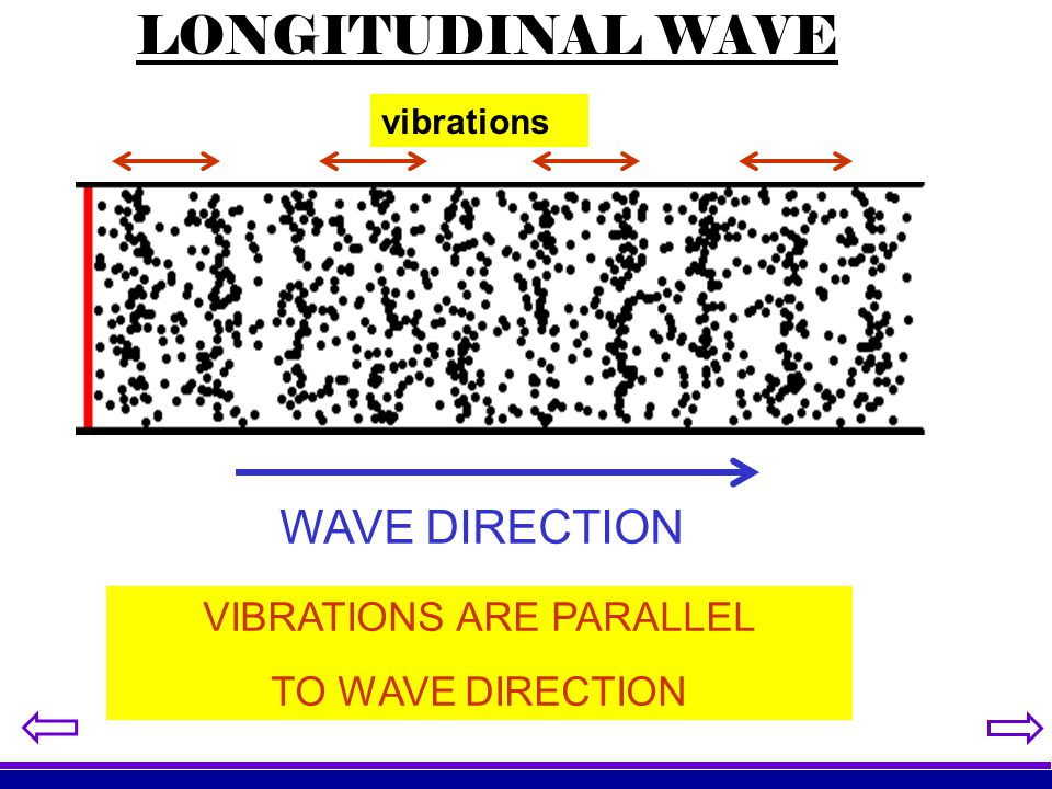 VIBRATIONS ARE PARALLEL