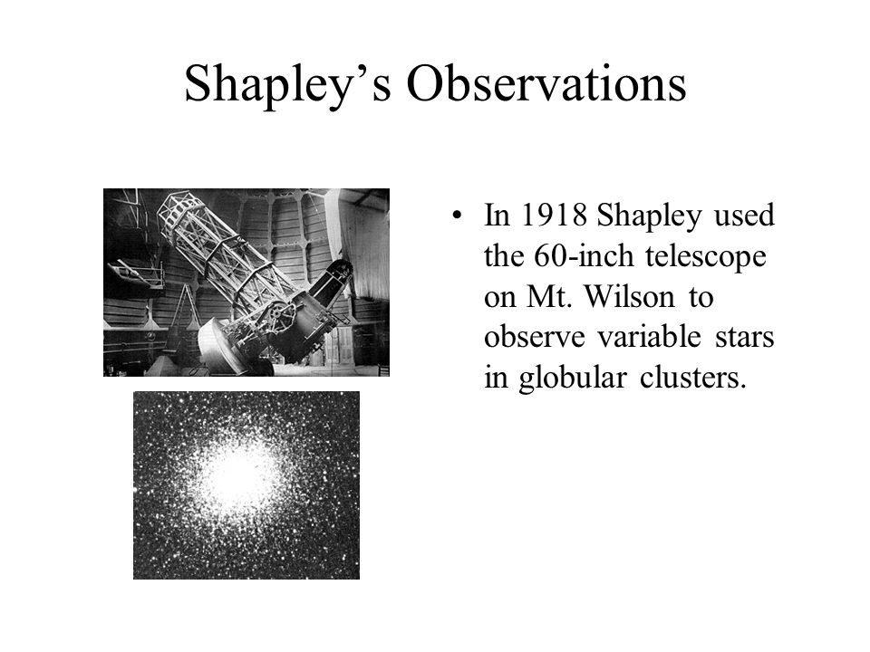 Shapley's Observations