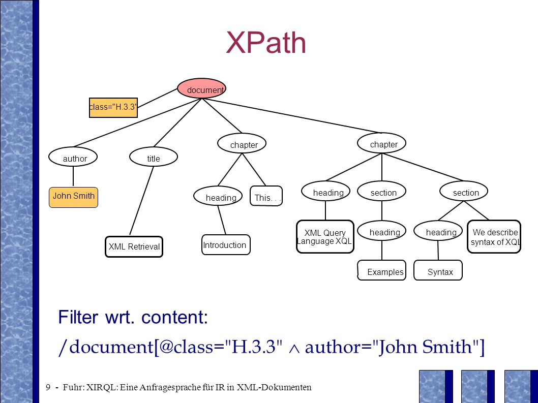 XPath Filter wrt. content: