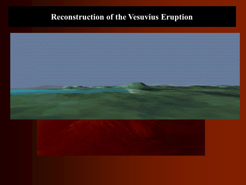 Reconstruction of the Vesuvius Eruption