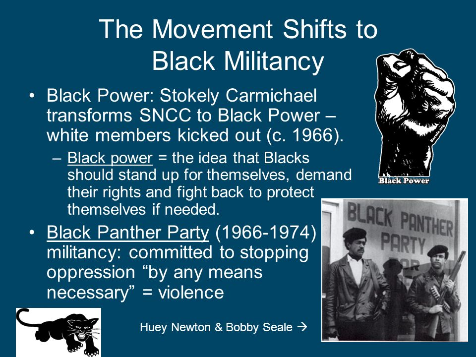 The Movement Shifts to Black Militancy