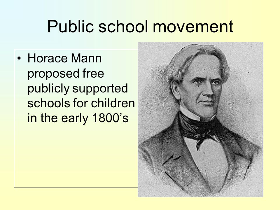 Public school movement