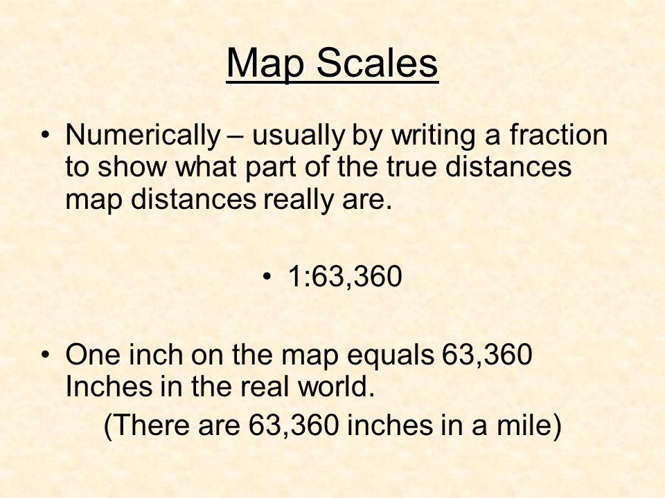 (There are 63,360 inches in a mile)