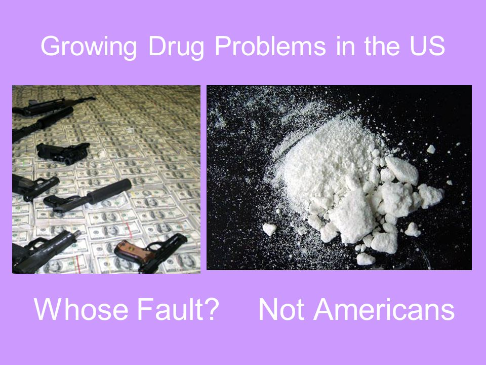 Growing Drug Problems in the US