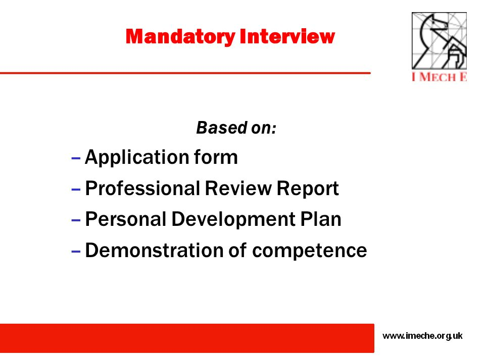 Professional Review Report Personal Development Plan