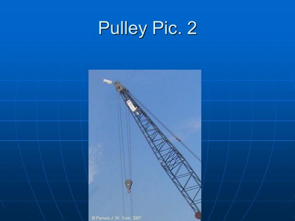 Pulley Pic. 2