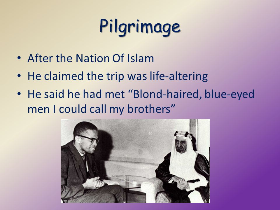 Pilgrimage After the Nation Of Islam