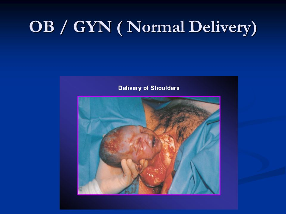 OB / GYN ( Normal Delivery)