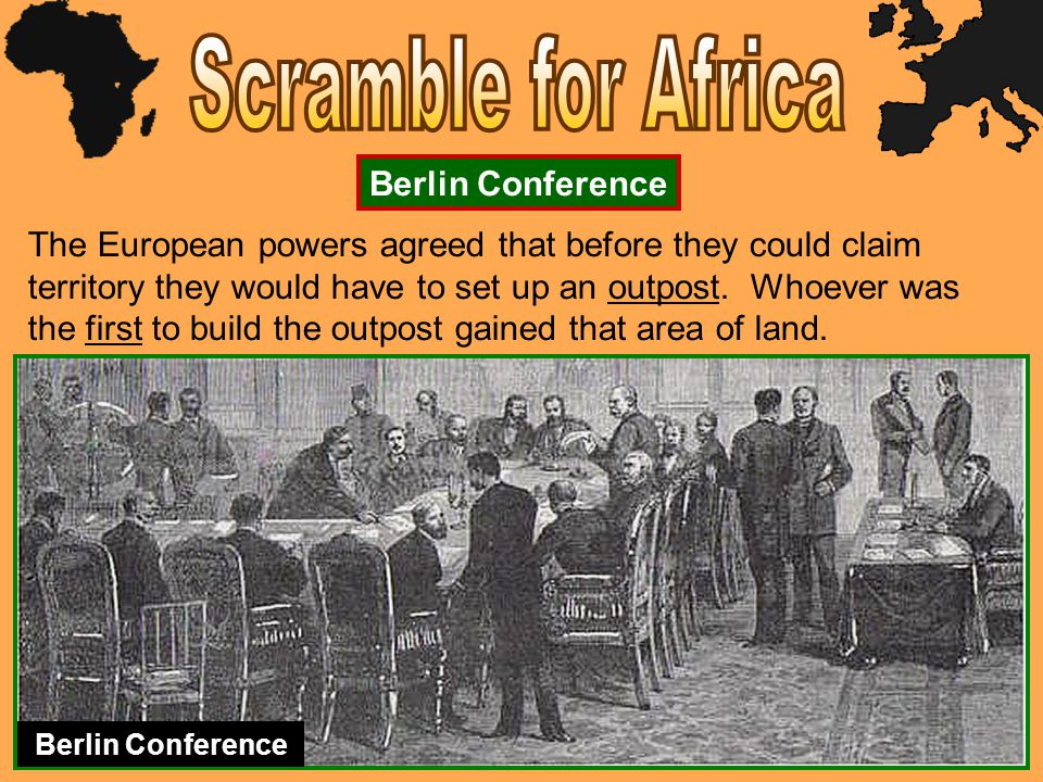 Scramble for Africa Berlin Conference