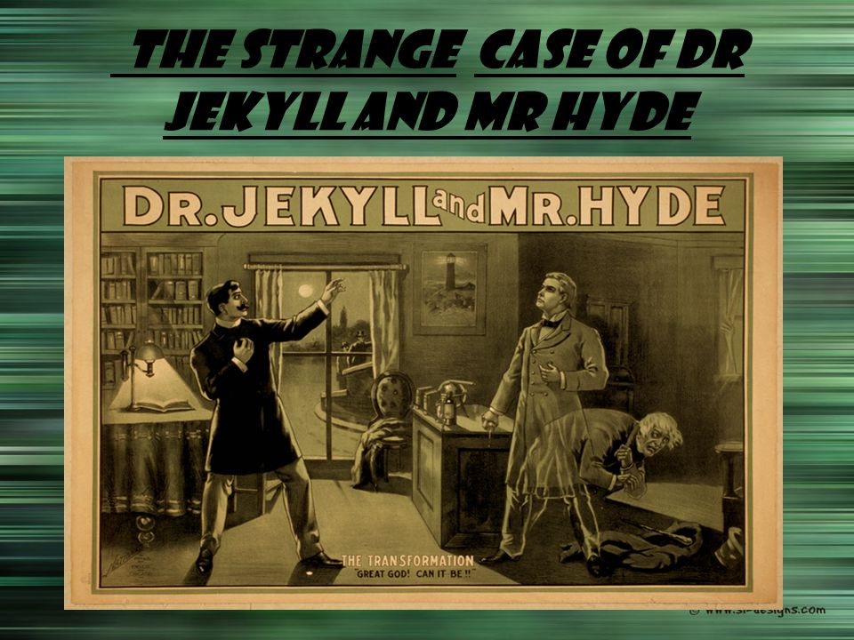 darwin in dr jekyll and mr hyde Robert mighall describes 'the strange case of dr jekyll and mr hyde' as 'more than just a shilling shocker' it explores in depth the hypocritical society of the victorian era, and emphasises the darkness that lies behind the respectable facade.