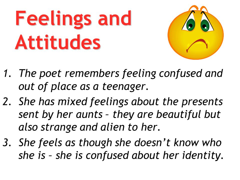 Feelings and Attitudes