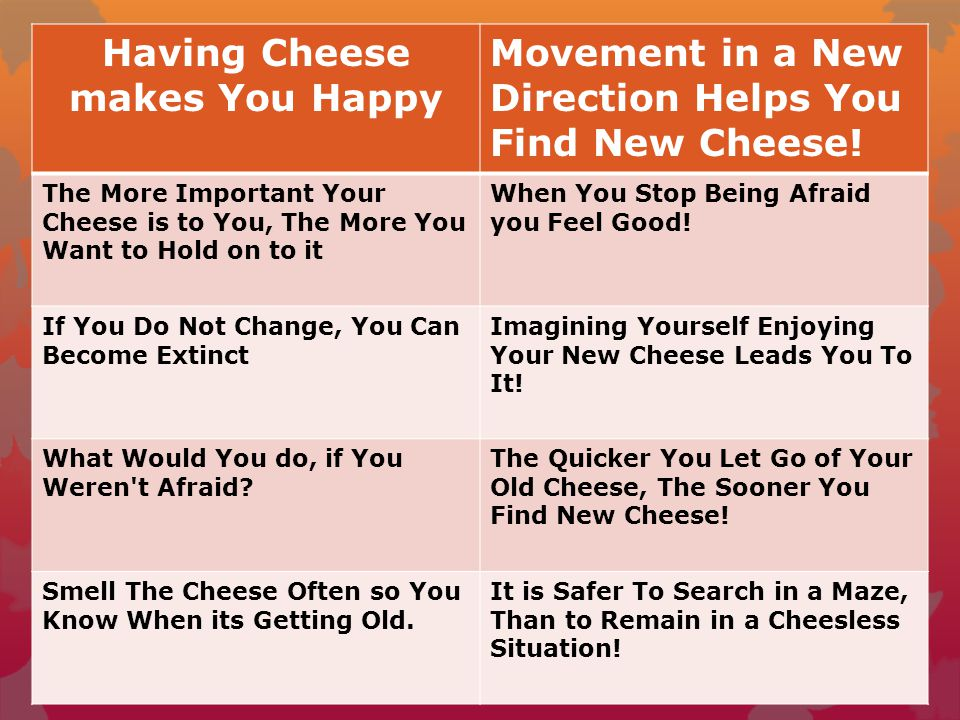 who moved my cheese pdf online