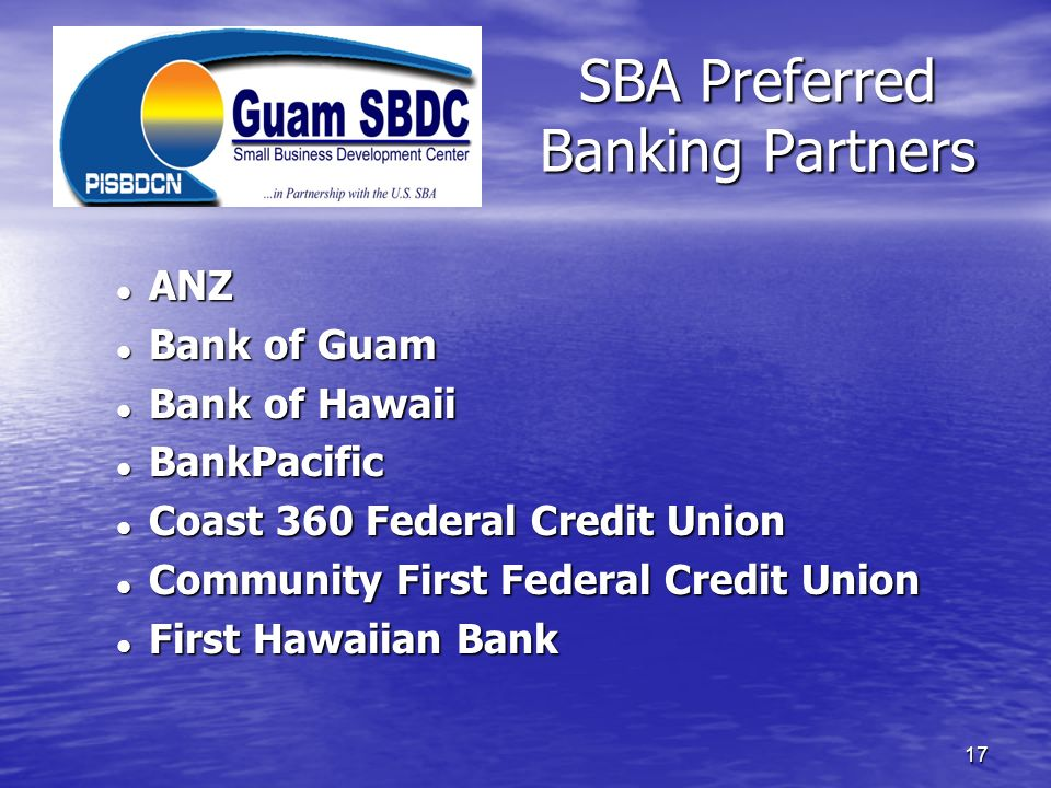 SBA Preferred Banking Partners