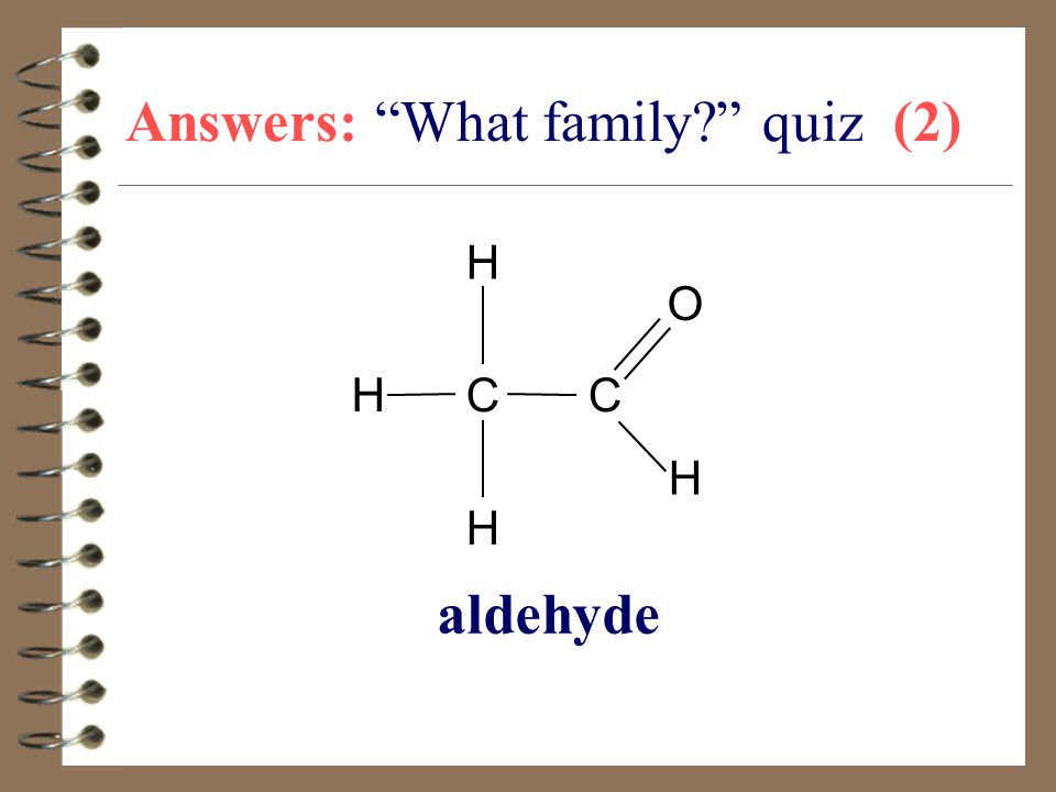 Answers: What family quiz (2)