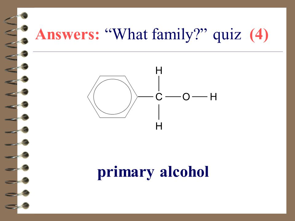 Answers: What family quiz (4)