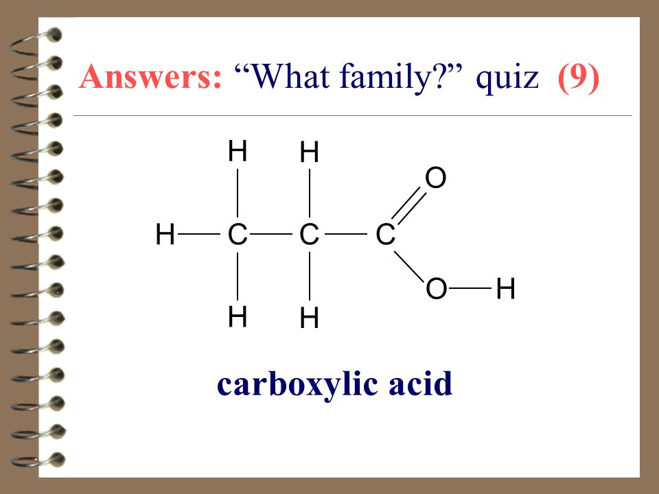 Answers: What family quiz (9)