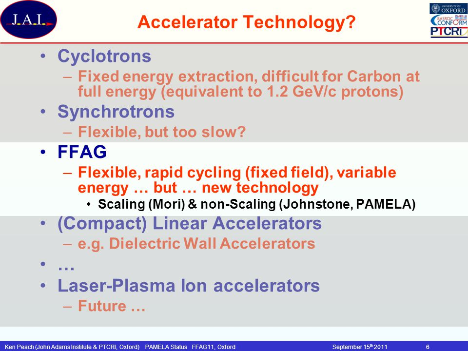 Accelerator Technology