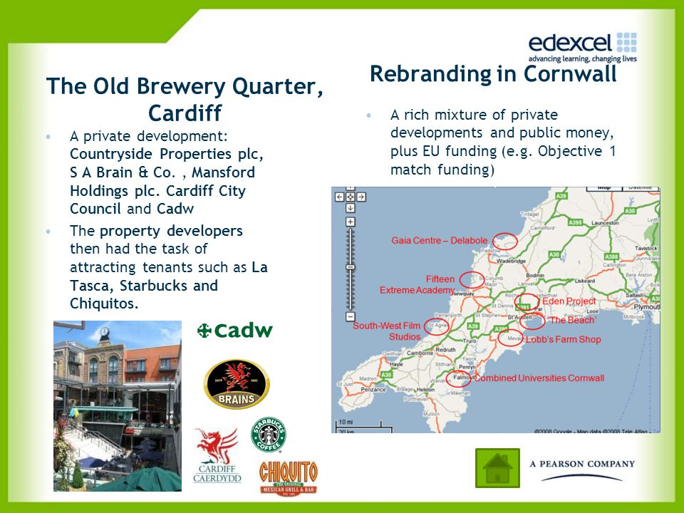 The Old Brewery Quarter, Cardiff Rebranding in Cornwall