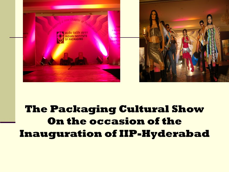 The Packaging Cultural Show
