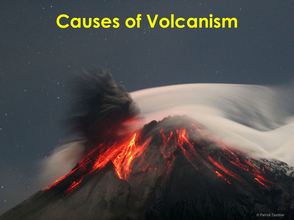 Causes of Volcanism