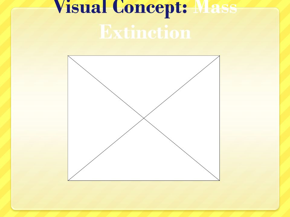 Visual Concept: Mass Extinction