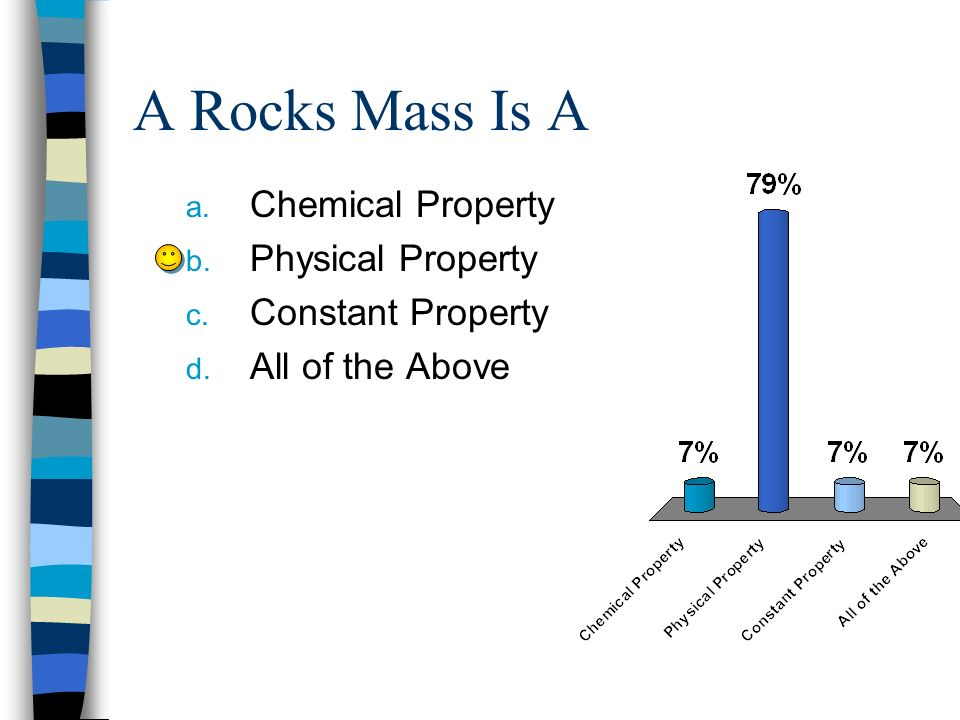 A Rocks Mass Is A Chemical Property Physical Property